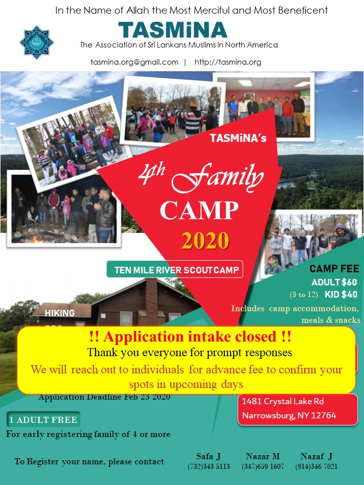 Family CAMP – 2020